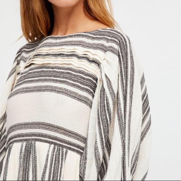 austin gal Dresses & Skirts - Striped Dolman Lilly Mini Dress Wide Sleeve